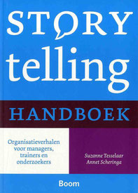 Storytelling handboek Tesselaar Scheringa Uitgeverij Boom