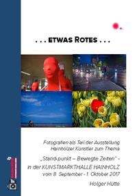 Ausstellungskatalog Holger Hütte zur Vernissage verfügbar