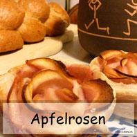 Apfelrosen selbstgemacht - Rezept mit Anleitung
