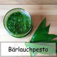 Rezept: einfaches Bärlauchpesto selbermachen