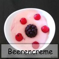 leichte Beeren Creme