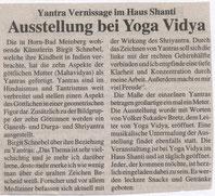 Artikel in einer Lokalzeitschrift