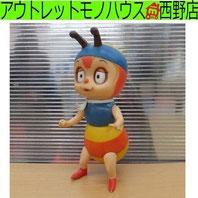 西野店 当時品 昆虫物語 みなしごハッチ ソフビ人形 全高21cm 鳴き笛 タツノコプロ 中古