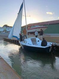 Sylter Segler-Club die Yacht der Jugendgruppe
