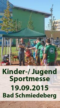 Kinder- und Jugend Sportmesse 19.09.2015 Bad Schmiedeberg