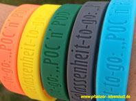 Gelassenheit-to-go-Armband Geschenk POD und POC