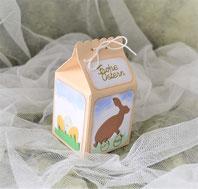 Geschenkschachtel für Ostern