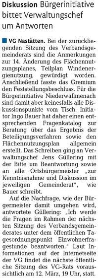 Rhein-Lahn-Zeitung vom 20.12.2014