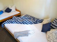 Ferienhaus am See - Schlafzimmer