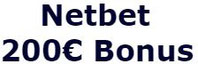 Netbet 200 € bonus
