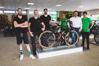 Experten in der e-motion e-Bike Welt in Heidelberg