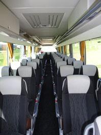 Innenansicht Reisebus Setra S515 HD der Firma Resch