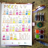 paper break boutique creteil bullet journal ateliers page mood tracker inspiration dessin aquarelle potions magiques