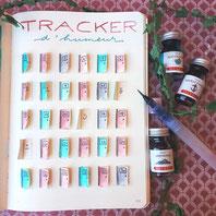 paper break boutique creteil bullet journal ateliers page mood tracker inspiration dessin aquarelle pop up petites portes