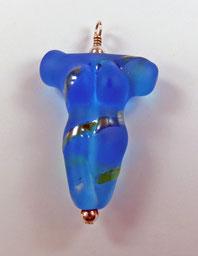 Türkise Venus mit Silberglas (verkauft)