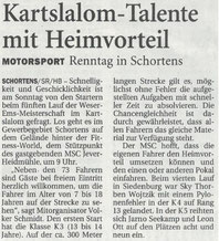 Nordwest Zeitung 15.06.18