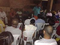 El doctor Suberví Bonilla juramentó la noche de este jueves su equipo de campaña de la Zona J4, Circunscripción 2, PRM, Distrito Nacional.  El acto se inició con la invocación de la señora Milagros Rodríguez de Carela quien pidió la bendición para todos l
