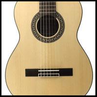 Guitare classique Kantare Vivace S/62, diapason 62 cm, modèle 7/8, épicéa