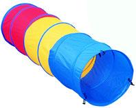 Tunnel de jeux simple 185 cm  pour enfants au meilleur prix. Venez découvrir ce tunnel de jeux simple pas cher!