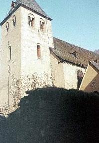 Die Alte Kirche vor dem Abriß 1968 (Foto H. Schüller)