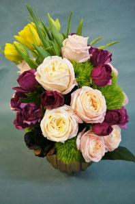 フラワーギフト・花・お祝い・アレンジ・贈り物 バラ・チューリップなどを使ったアレンジ