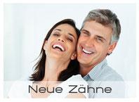 Bild: Zahnersatz für natürlich, schöne und feste Zähne(© Yuri Arcurs - Fotolia.com)