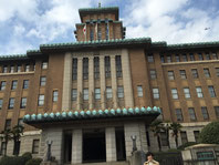 立春の神奈川県庁