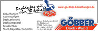 Göbber Bedachungen GmbH aus Twistringen