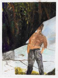 Martin Schnur  o.T. Pastellkreide / Papier 40x30cm, gerahmt 2011