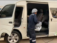Safely Sanitise Cars in Seconds - no residue