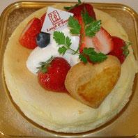 チーズケーキ いちご(15cm)