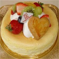 チーズケーキ フルーツ(15cm)