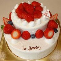 18cm12cm 2段ケーキ(¥5300)