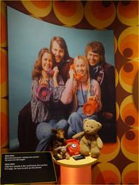 Kasimir, Cäsar und Fredi im ABBA-Museum, Stockholm