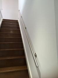 pasamanos de acero inoxidable para escalera