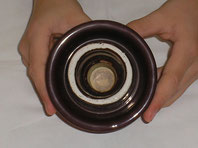 Porzellan Isolator braun Fa. Rosenthal Selb