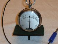 Taschen Galvanometer von ca. 1910 der Fa. Schoeller & Co Frankfurt a / M.