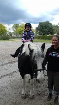 Ponyreiten mit Billy  - FRFC