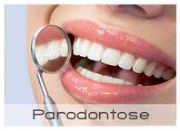 Zahnfleischbluten und lockere Zähne? Wie Ihnen Zahnarzt xy in yz gegen Parodontose helfen kann. (© pressmaster - Fotolia.com)