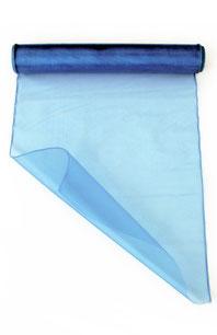 Rol organza € 5,95 babyblauw 9mx32cm
