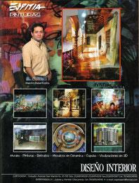 3D VISUALIZATION Rafael Espitia.  Visualizar el diseño de nuestro proyecto antes de ser construido, corregirlo si es necesario y ahorrar tiempo y dinero, son las ventajas de este novedoso sistema por computador.  ESPITIA PAINTINGS:  Murals - Paintings - P