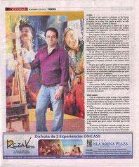 """La mujeres de Espitia estuvieron simultáneamente en Nueva York en """"Clemente Soto Vélez Gallery"""" y """"JMC Gallery""""...    VIERNES Magazine,November 19th 2010By: Heidi Llanes."""