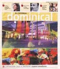 """CARTAGENA SALE A TRIUNFAR: """"ESPITIA EN MIAMI""""El pintor cartagenero, Rafael Espitia, expone su obra Mujeres, en Cristina Chacón Gallery. Miami, USA."""