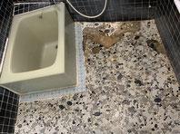 浴室 洗い場 改修工事