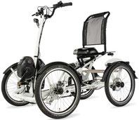 Pfau-Tec Pronto Dreirad und Elektro-Dreirad für Erwachsene - Front-Dreirad 2017