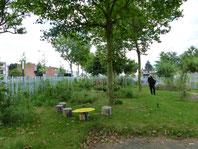 Le Jardin de Lens est composé de plantations et d'aménagements développés par les habitants