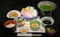 かんぱち茶しゃぶ 1,650円(要予約)