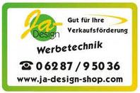 JA Design Werbetechnik