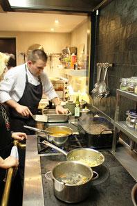 Kochkurs im Hotel & Restaurant Eggers / am Molteniherd