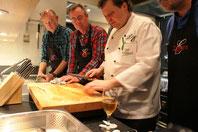 Kochkurs im Hotel & Restaurant Eggers / Fisch filettieren